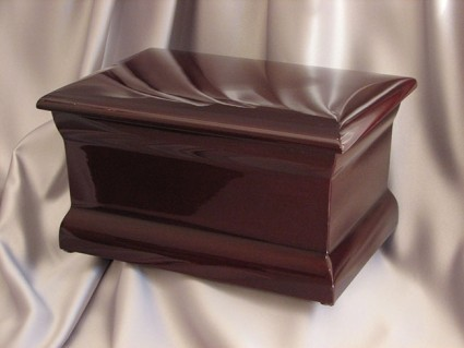 Polished Mahogany | Thompson Funeral Service